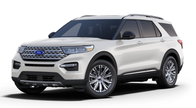 New 2020 Ford Explorer Limited SUV in Hamburg, NY